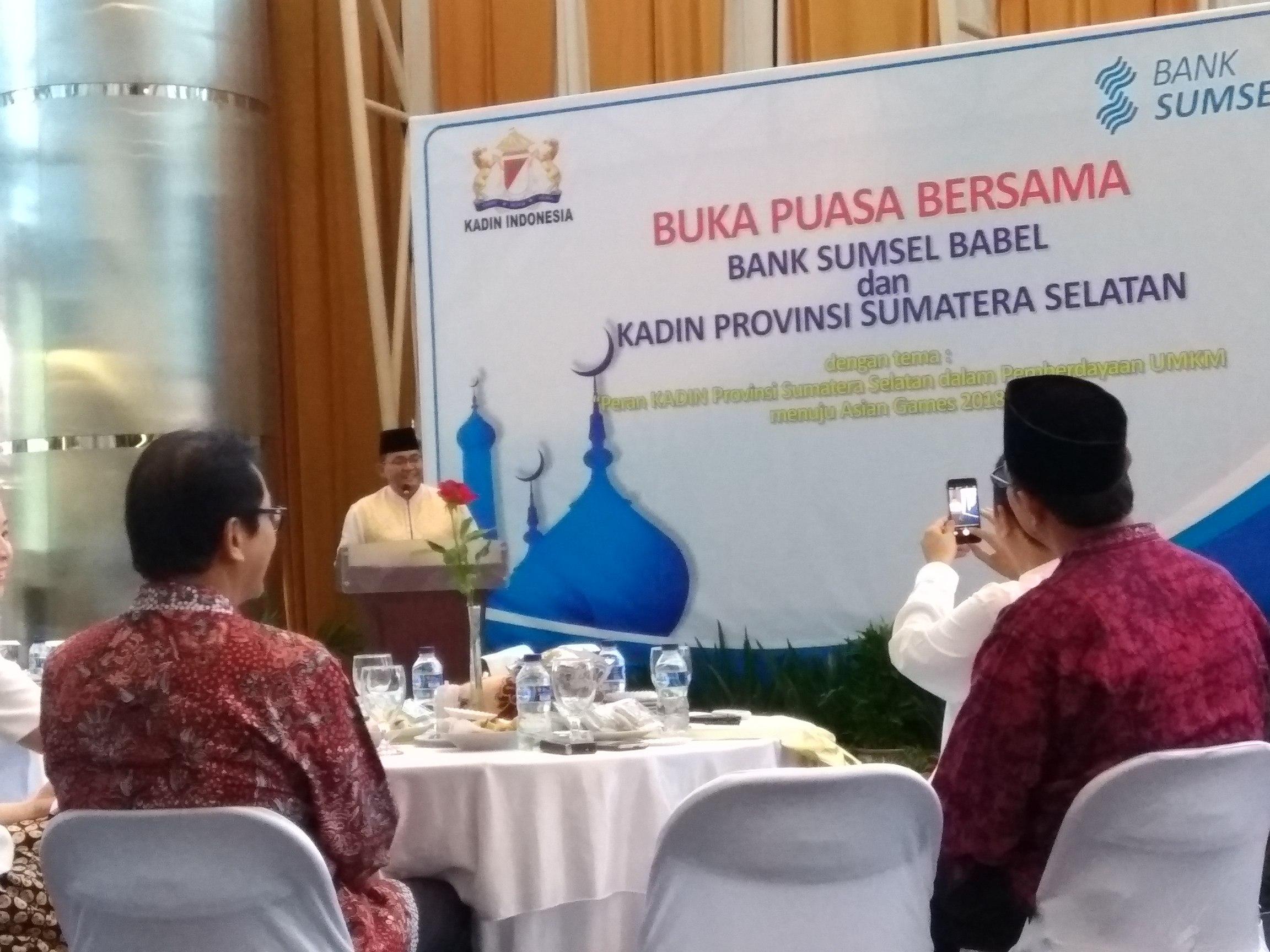 Buka Puasa Bersama Bank Sumsel Babel dan Kadin Provinsi Sumatera Selatan