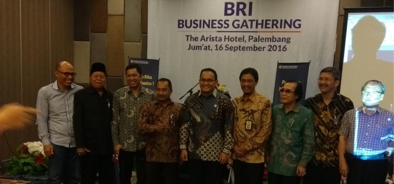 BRI Business Gathering - Membahas Penerapan Tax Amnesty di Indonesia